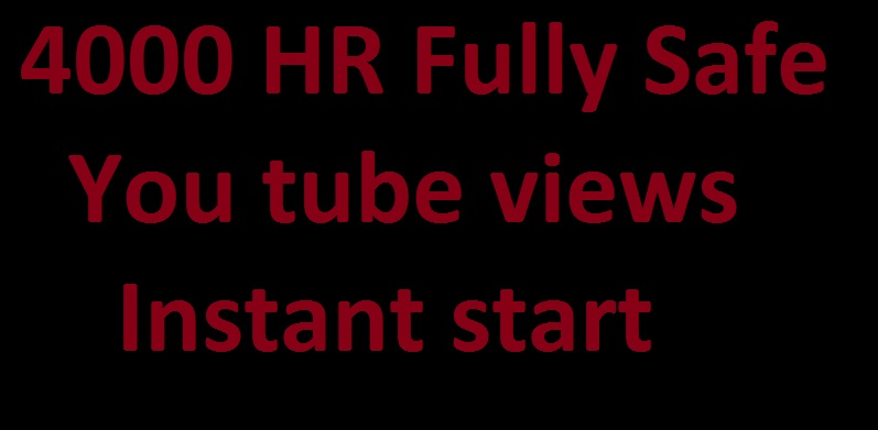 Youtube promotion genuine service  via real users