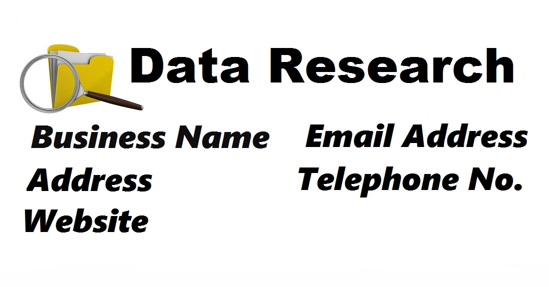 I will make a 200 list of contacts and research emails in web