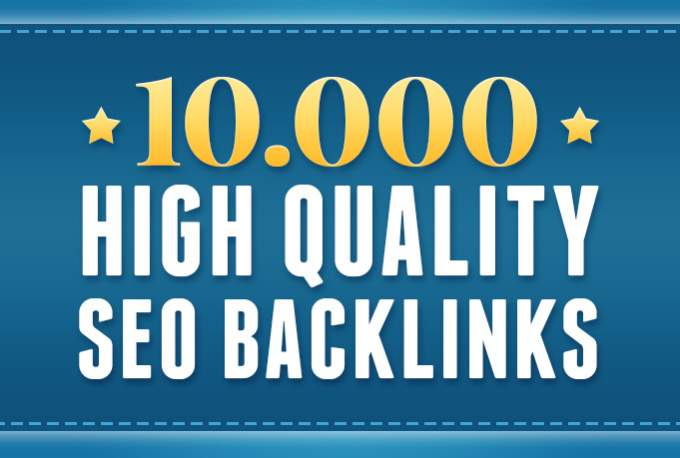 I will make 10000 High Quality Backlinks for GSA Google Ranking