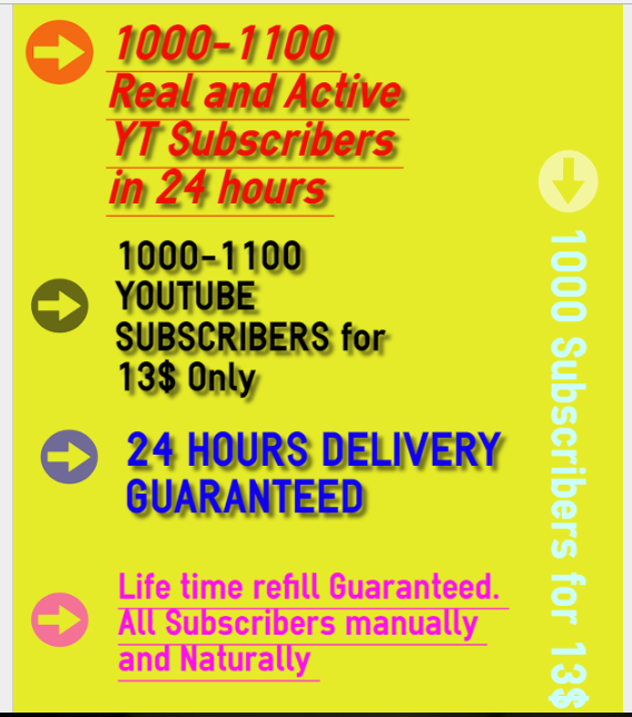 Safe 1000-1100 Real and Active Y T  Subs