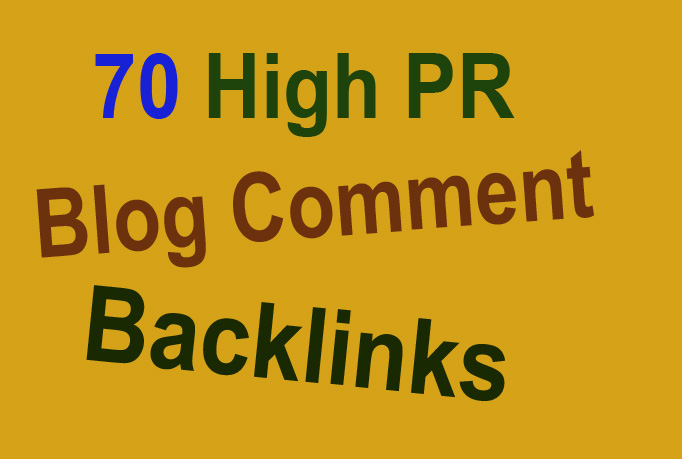 manually create 70 content related blog comments backlinks