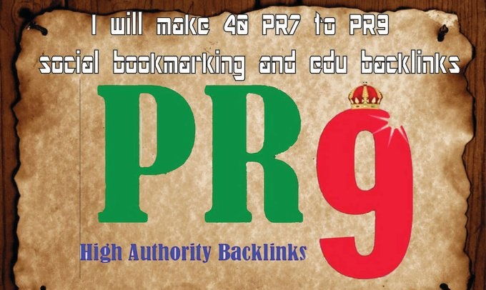 Dominate GOOGLE RANKINGS manually build High Pr EDU BACKLINKS