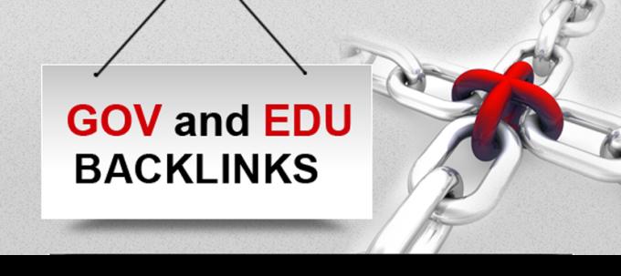 I will manually build 60 high quality edu and gov seo backlinks