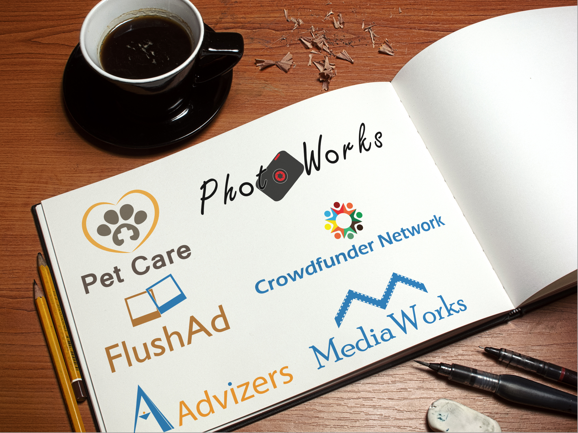 do professional Logo design or business card design