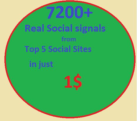 7200 Real SEO Social Signals including PR9 Googleplus ones Pinterest signals social bookmark