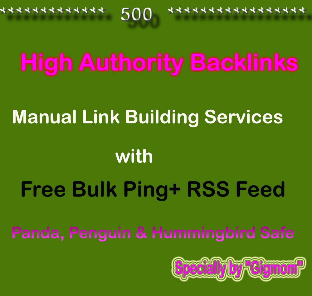 Create Manually 500 High Authority Backlinks for TOP Ranking DA70-DA100