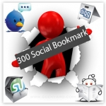 Will bookmark your site to 350 unique Social Bookmark
