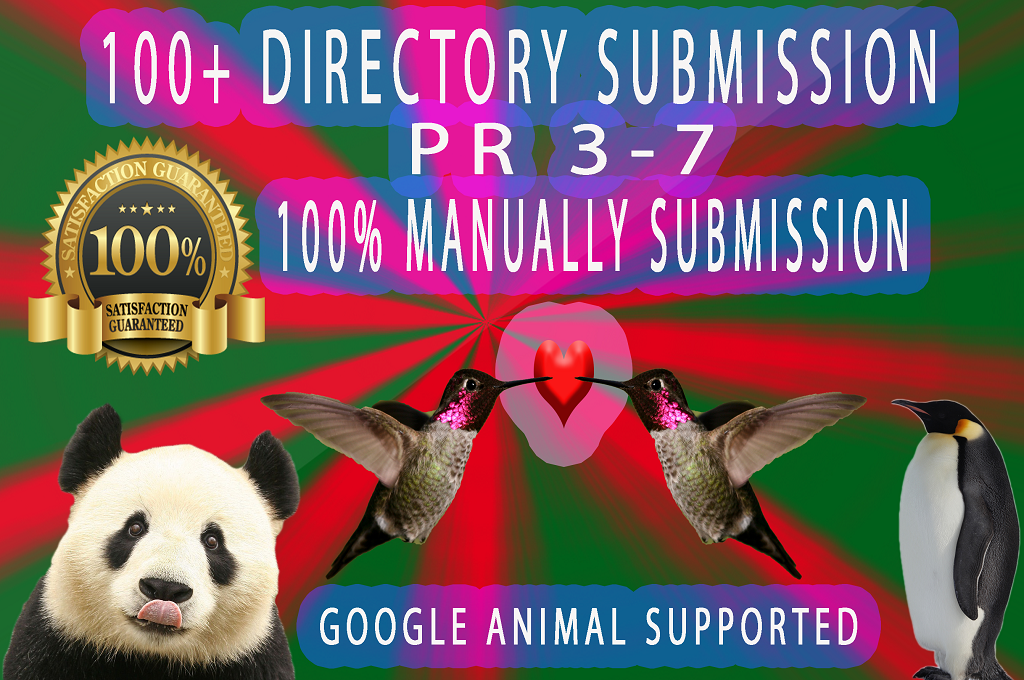 Create 100 High PR Dofollow Manual Directory Submission