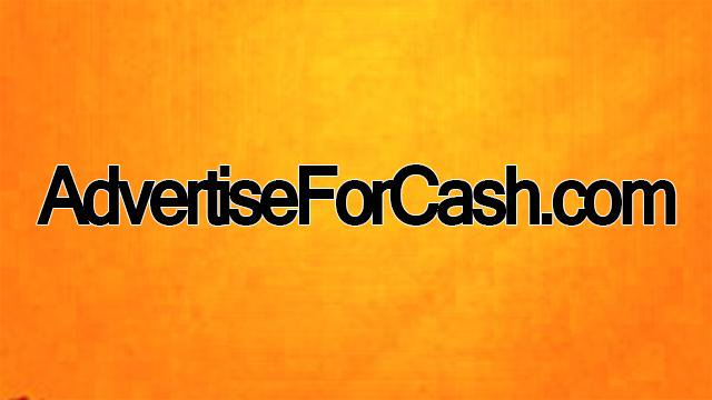 Place your website URL on AdvertiseForCash. com