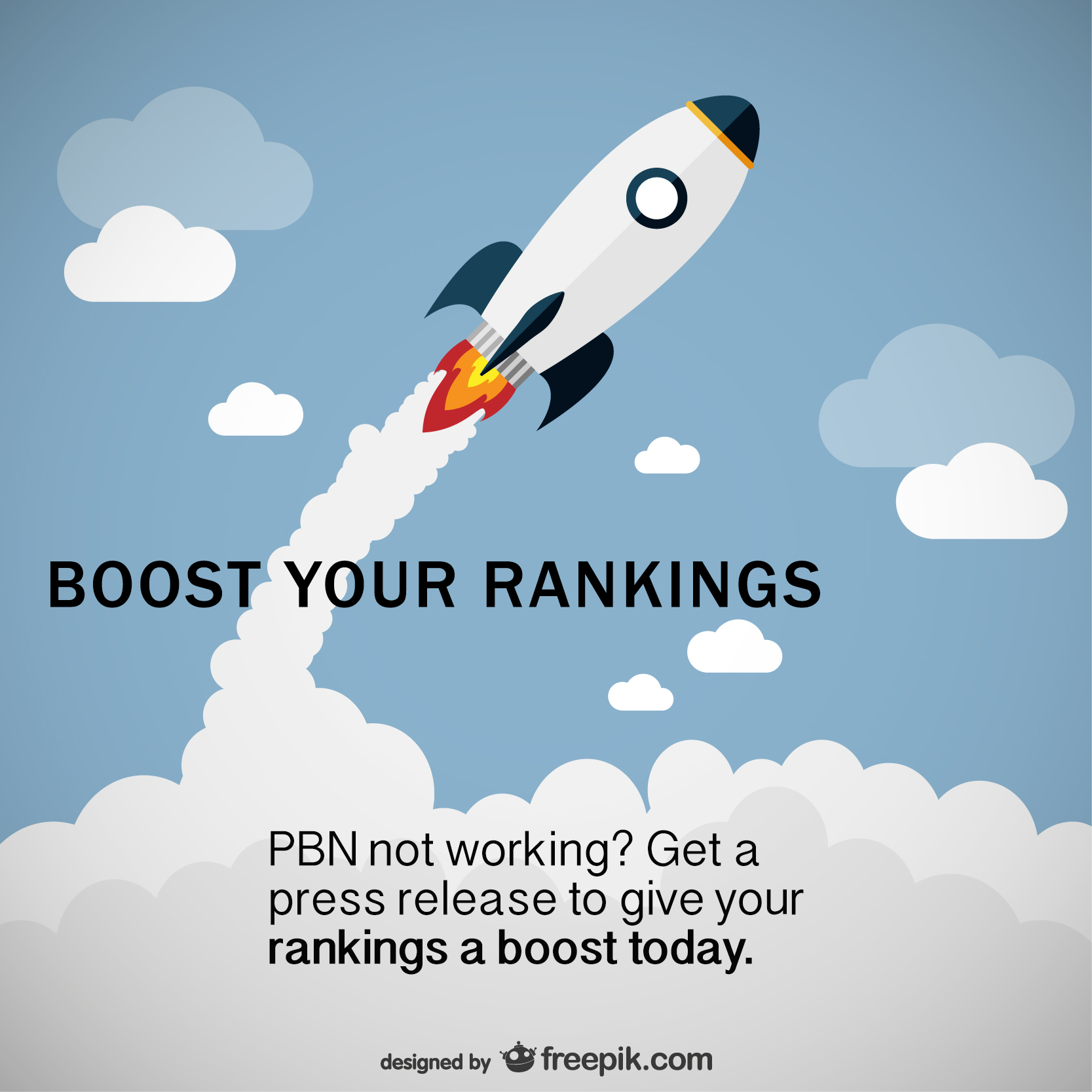 PBN NOT WORKING? Boost Your Rankings NOW! GET A Press Release!