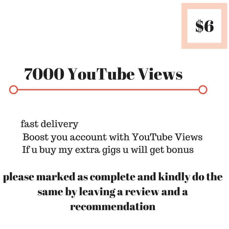 7000 youttuber viewerss HQ