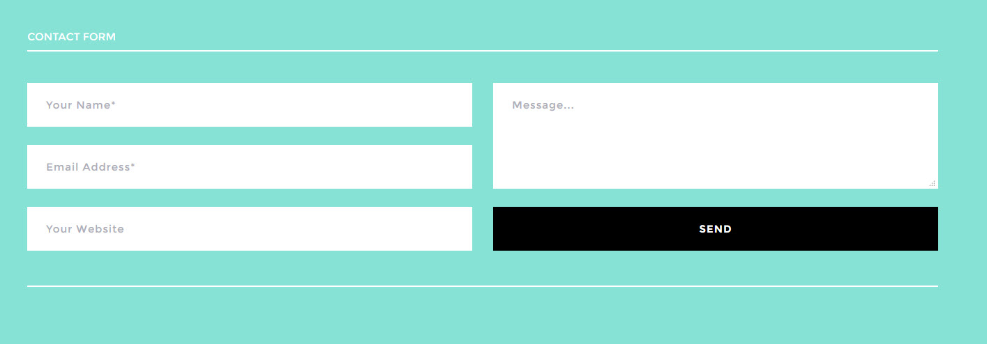 I will create a contact form for your website