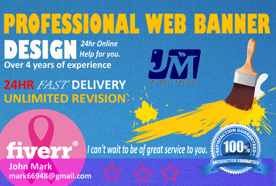 I will design AMAZING 12 Web Banner ads, Headers, Covers