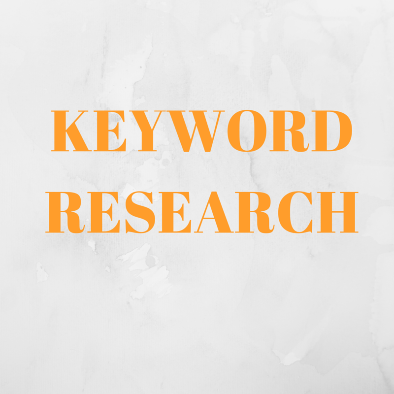 Research 5 low competition keywords
