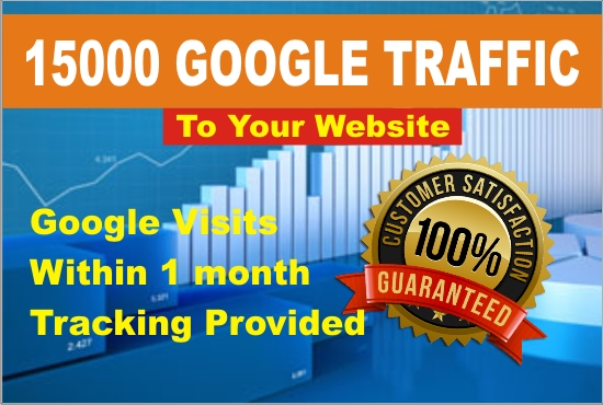 I Will Drive 15000 Real TRAFFIC within 1 month