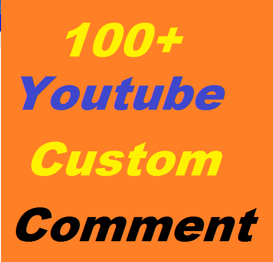 100+ Youtube Video Custom Comment Video Related or 600 youtube likes