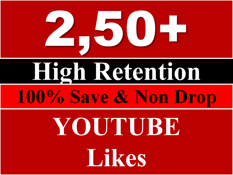 fast 250 Youtube likes
