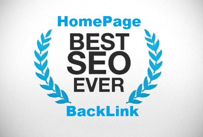 10X Homepage Panda Safe Dofollow Backlink Get Top Google Ranking Get Alexa Rank