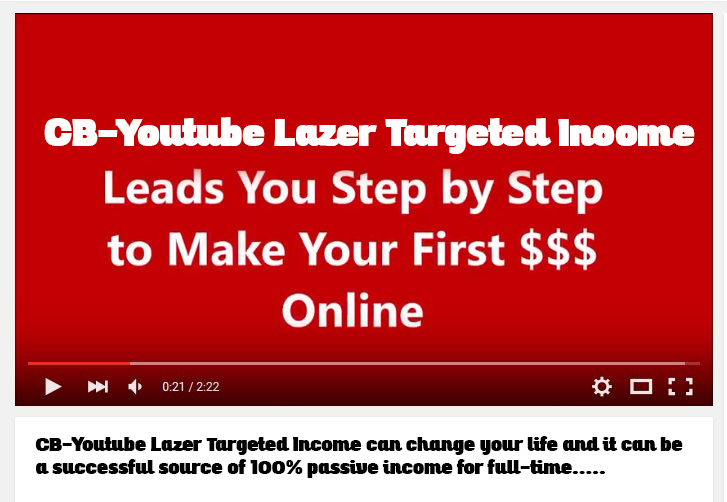 CB-Youtube Lazer Targeted Income