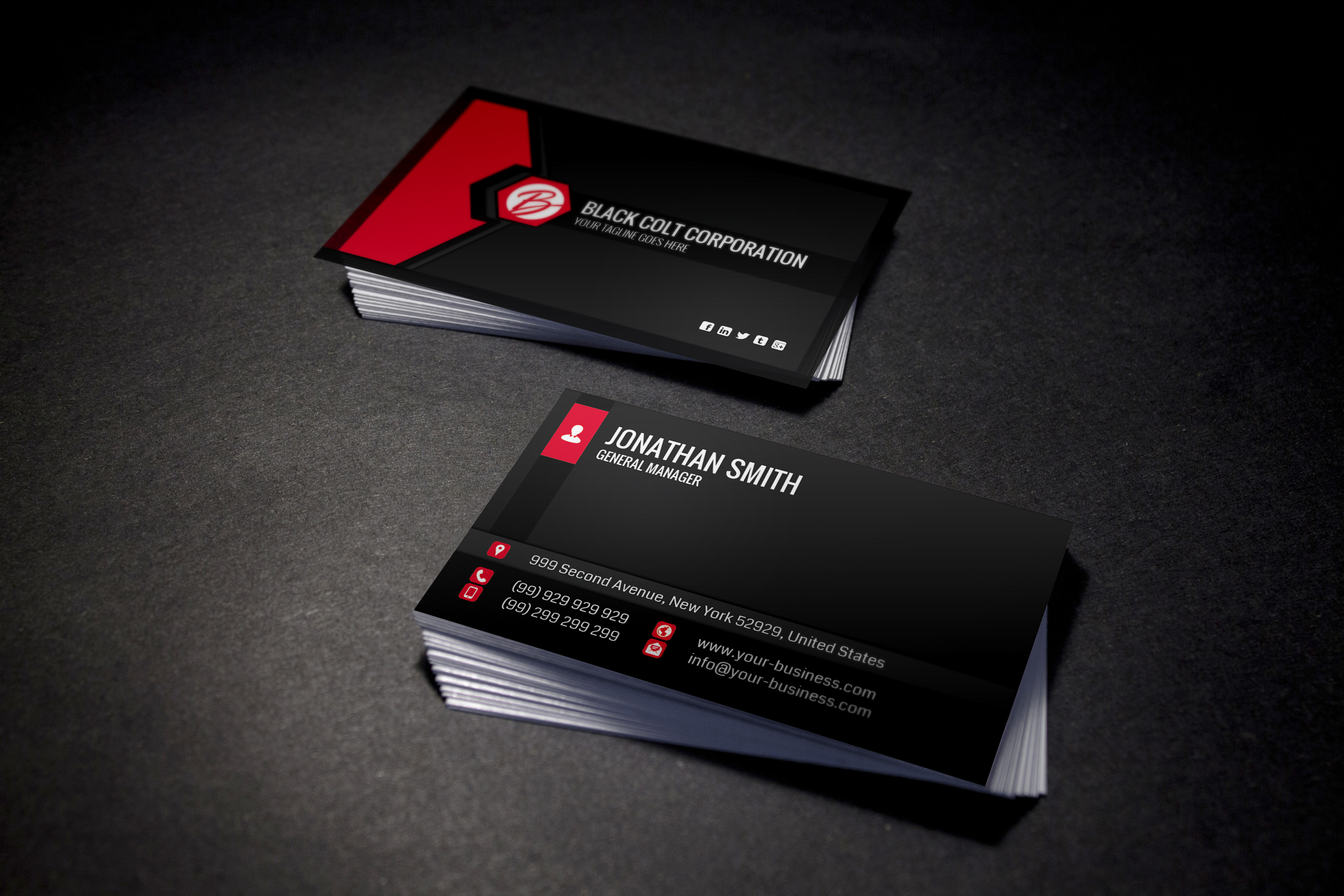Will deliver more than 500 Business Card Templates for $10 - SEOClerks