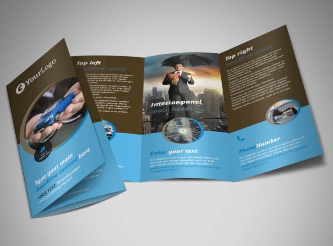 tri fold flyer Template – Three Fold Flyer Template