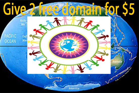 i will give 2 free domain name for you