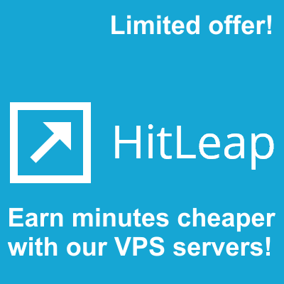 Run 100 Hitleap Sessions on our stable VPS Servers 24x7 for 30 Days