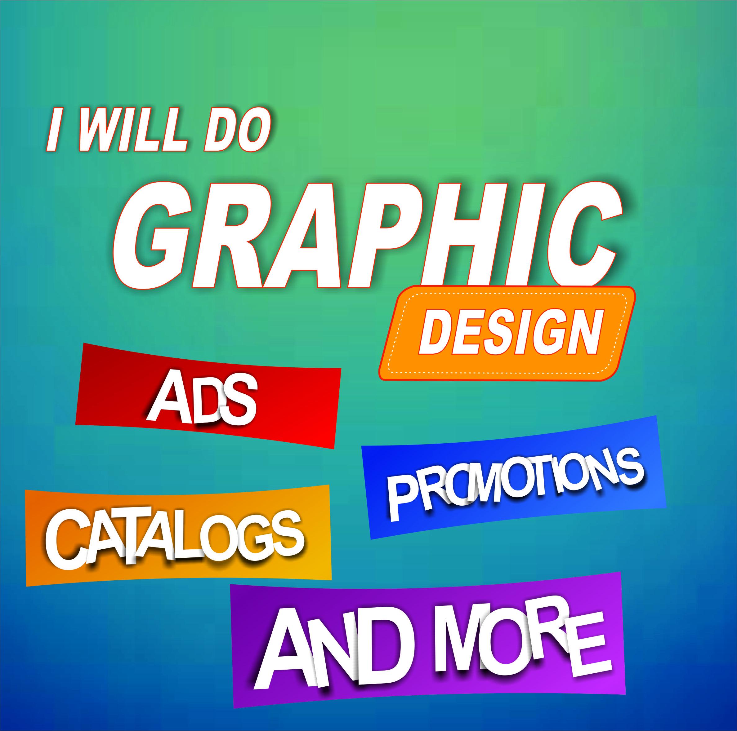 I will do a vector graphic design