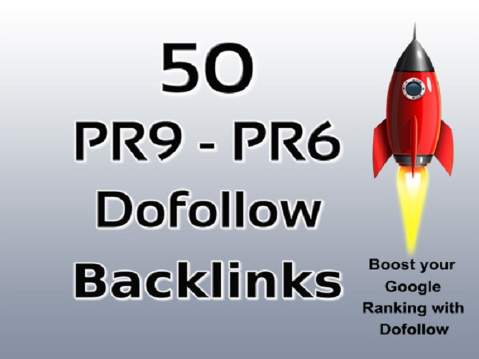 50 Pr9 to Pr6 Dofollow Profile Backlinks are Manually Created Google Influencing HQ backlinks