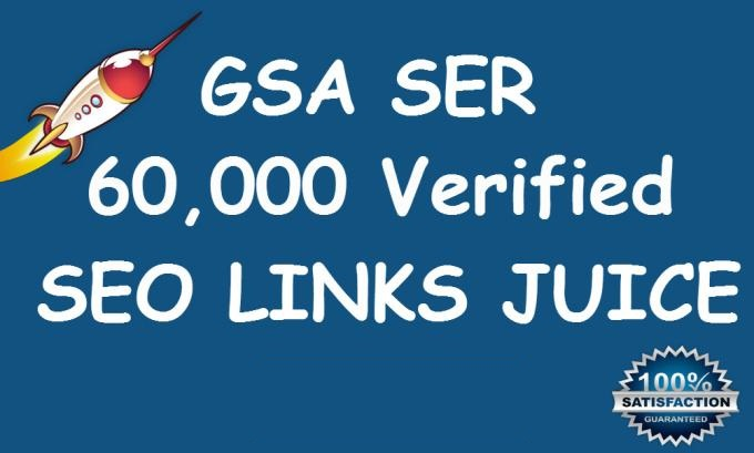I will do 60,000 Verified GSA Ser Live Backlinks for ...