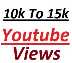 Instant provide 10,000 To 15000 real YouTube  vi ews In Your Video very fast