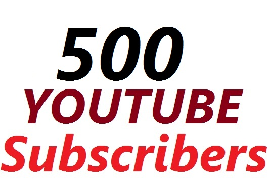 Instant provide 500 YouTube Subscribers To Make Attractive Your Channel Refill Guarantee