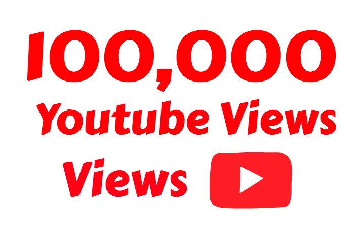 I will add 100,000+ Super Fast  Youtube vie ws
