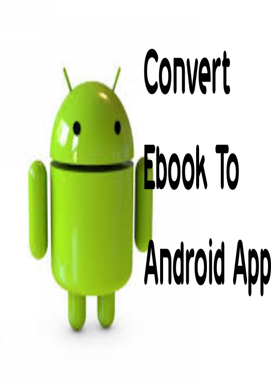 Convert ebook to app android with admob