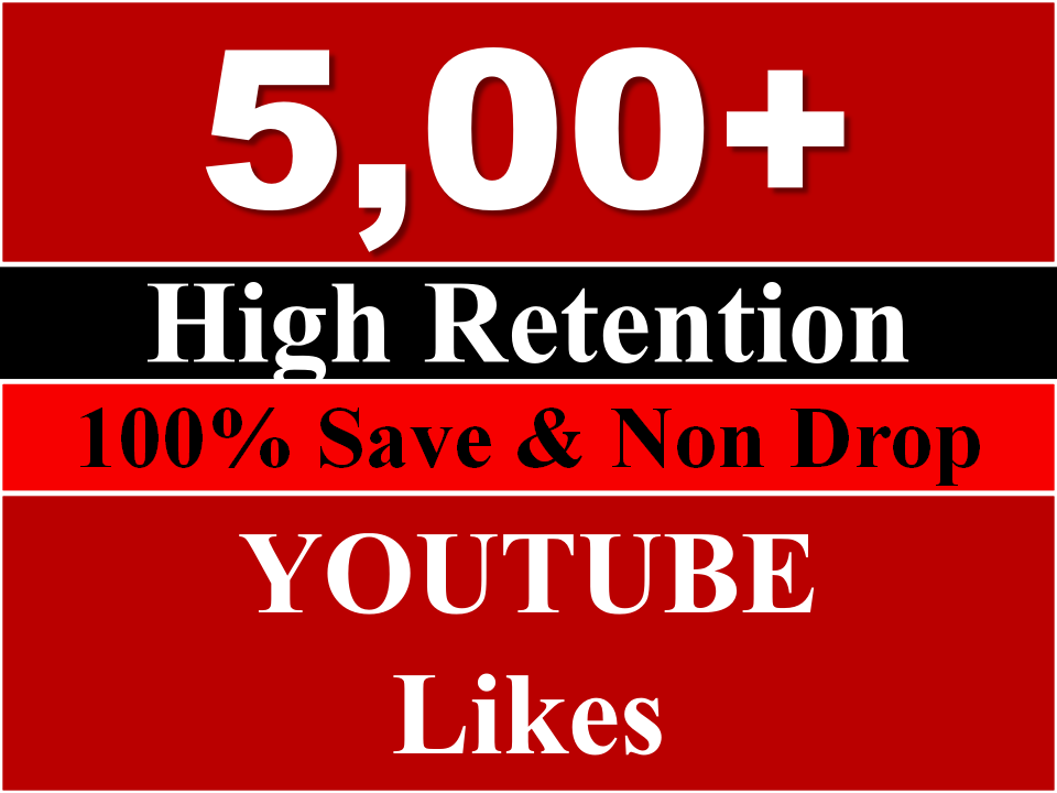 Get INSTANT 500 Youtube likes