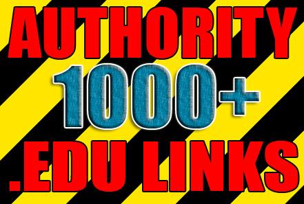 Get over 1000 edu and gov backlinks