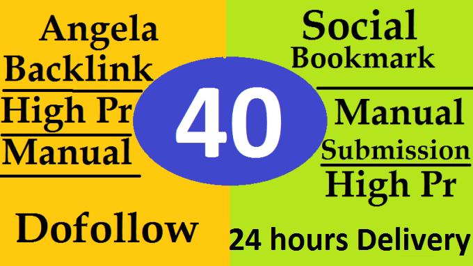 40 High Pr Do follow Profile Backlinks