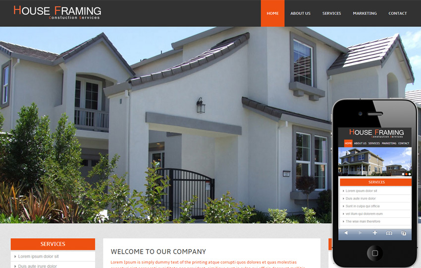 Mobile-friendly Website for your Real Estate Listing