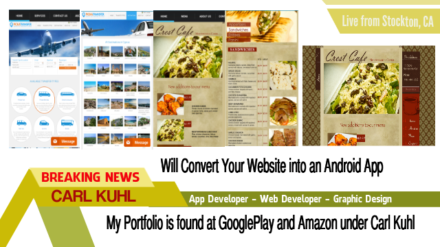 Create an Amazing IOS and Android App for your Business