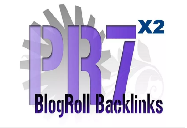 give you a homepage niche 2xPR7 blogroll link