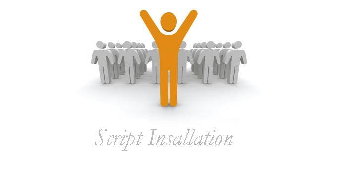 Script Installation Service