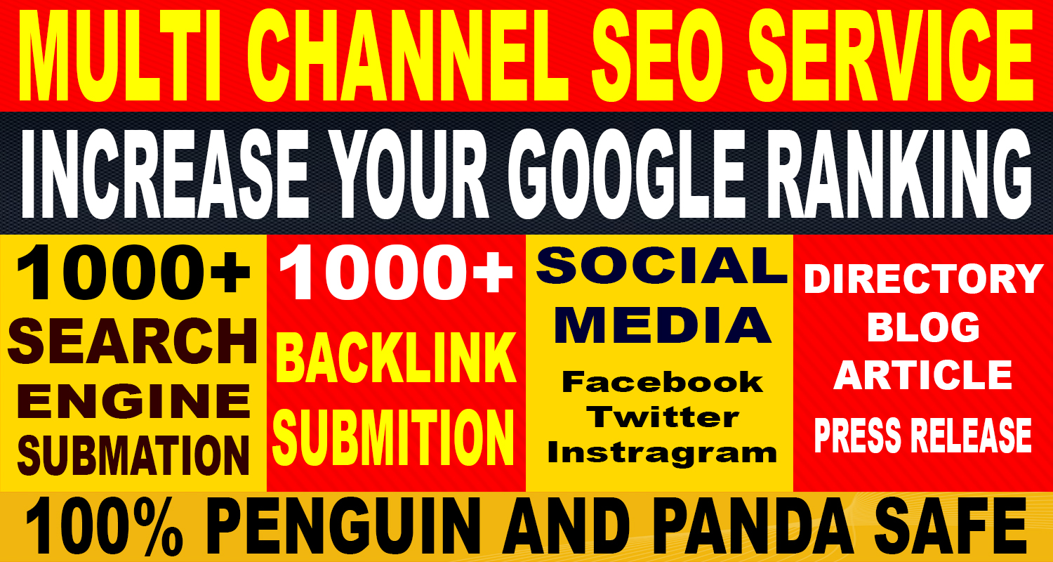 Multi channel SEO services