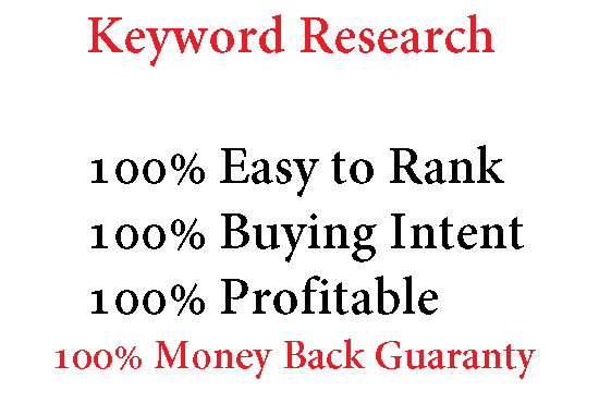 I will find 10 easy to rank keywords for your site