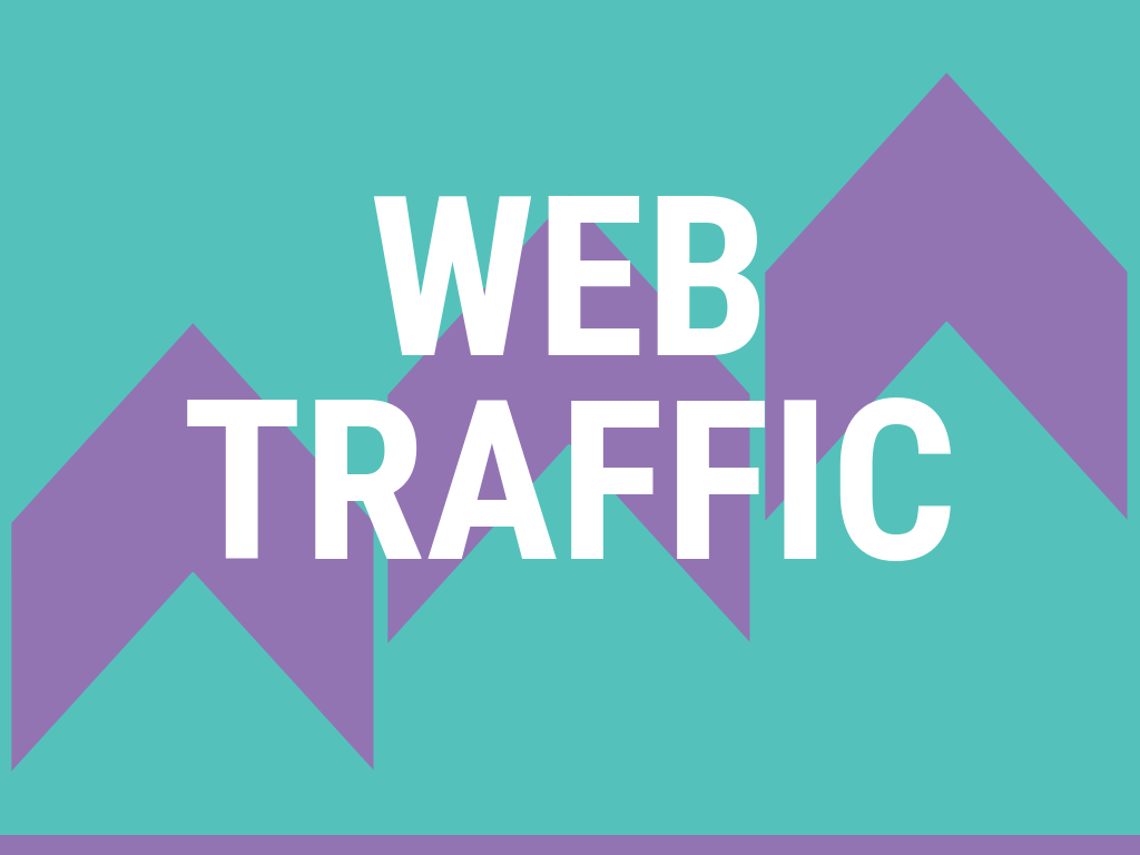 300 daily visitors to your website for 12 months