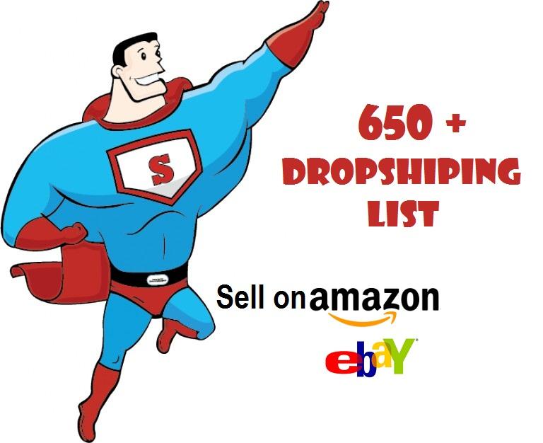 650 + Drop-Shipping Supplier-List