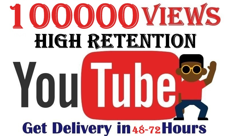 100000+ You'tube Vie'ws and Real Ads Server Lifetime Guaranteed