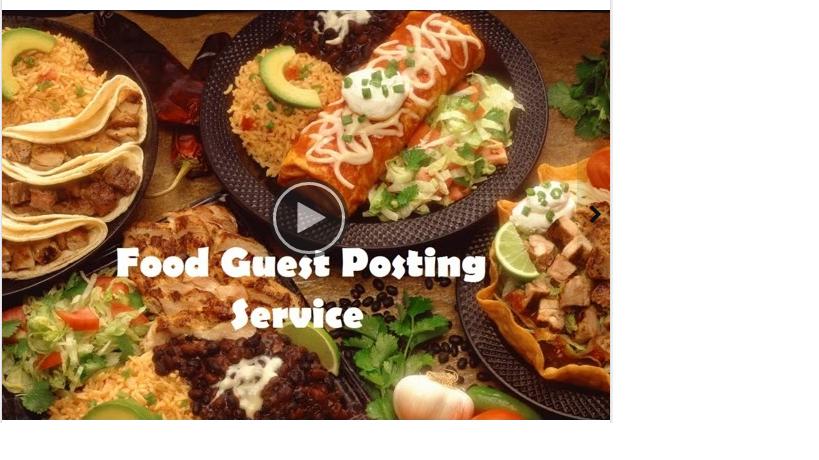 live guest post on PR3 DA42 PA36 Food Blog
