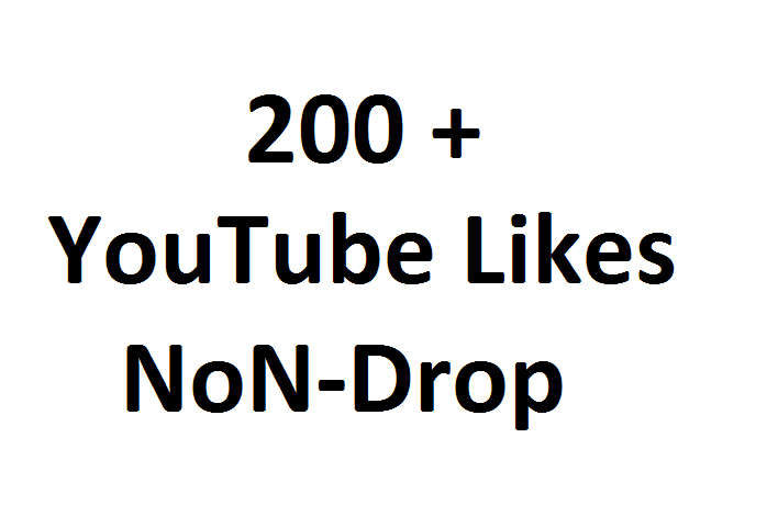 Get Promotion with 200 ++ YouTube Video High Quality Likes