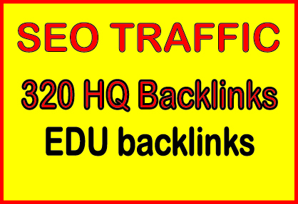 Provide 320. EDU high quality backlinks