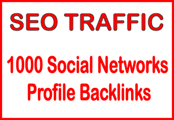 Do HQ PR 1000 Social Networks profile backlinks